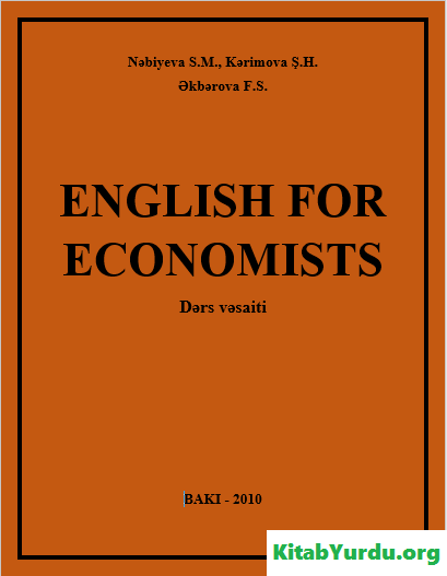 ENGLISH FOR ECONOMISTS