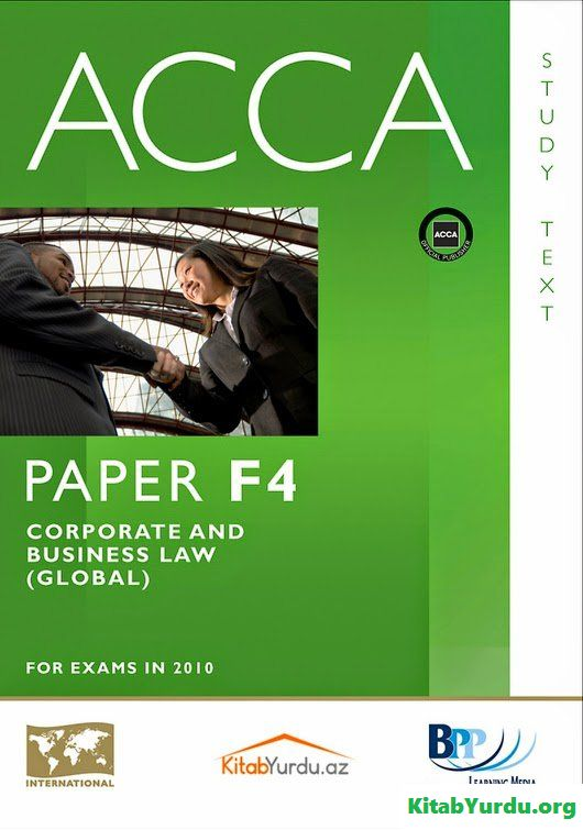F4-Corporate and Business Law (Global)-Study Text-BPP