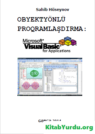 OBYEKTYÖNLÜ PROQRAMLAŞDIRMA Visual Basic for Applications