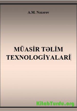Muasir Təlim Texnologiyalari Kitabyurdu Org