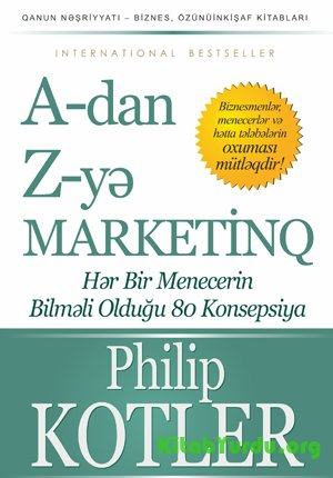 Filip Kotler A-dan Z-yə marketinq